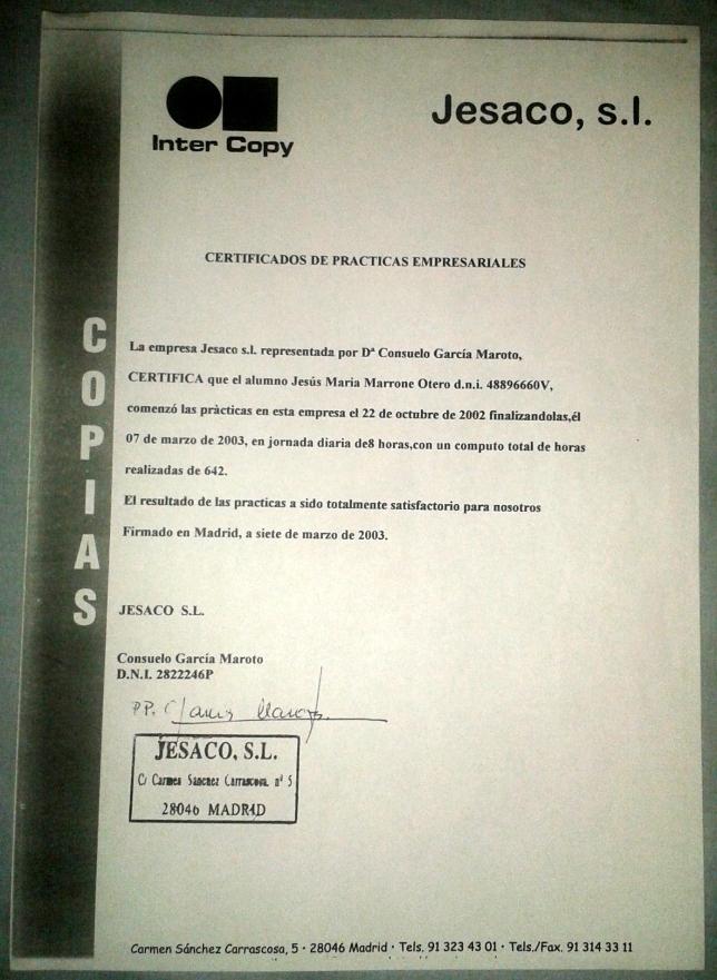 recomendacion-consuelo-garcia-maroto-intercopy-jesaco-para-jesus-marrone