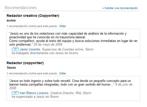 recomendacion-linkedin-ivan-blanco-lorenzo-director-creativo-interactivo-ruzi-nicoli-lineas-stormin-para-jesus-marrone