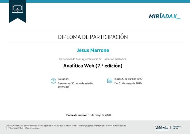 diploma-analitica-web-miriadax-jesus-marrone